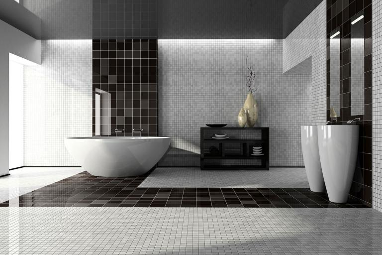 Trendsetting Bathroom Tile